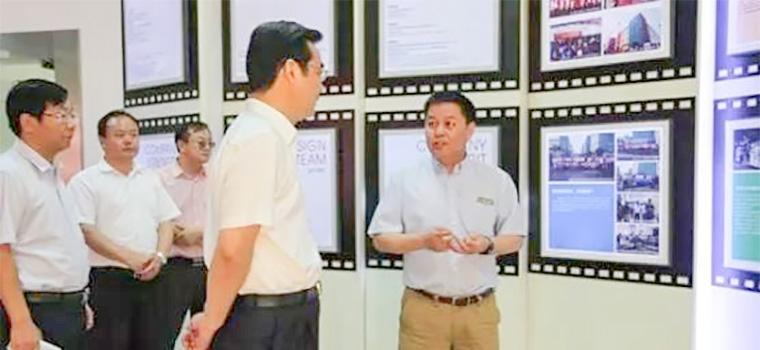 常州市副市长武进区区委书记史志军到访超凡标牌考察调研