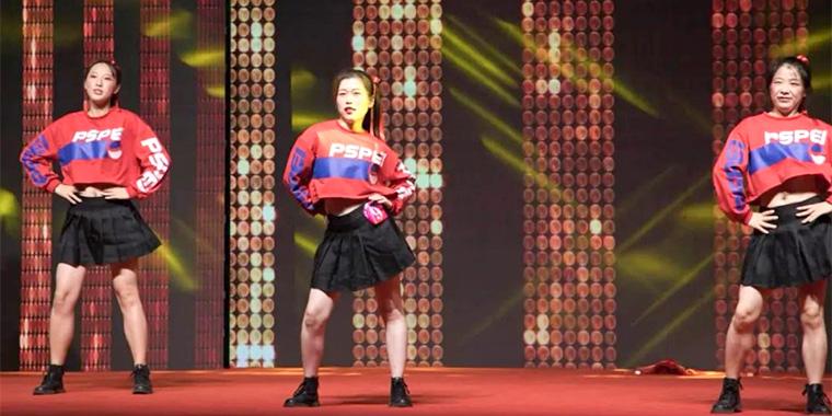 舞蹈大赛展风采,超凡标牌逐梦前行庆佳节