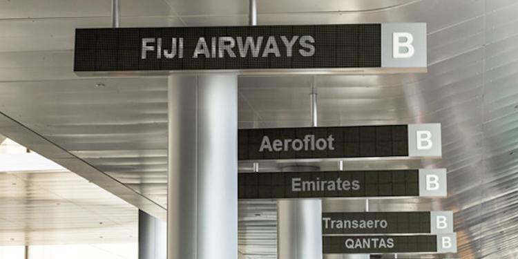 车站机场标识